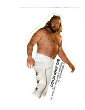 Big John Studd 1985 Vintage Titan Sports Vending Sticker Wrestling WWF WWE