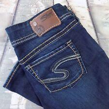 Silver Jeans Size 29 Women's Suki Capri Sz 29/26