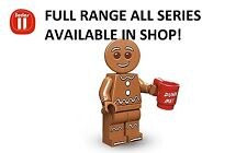 Lego gingerbread man series 11 unopened new factory sealed