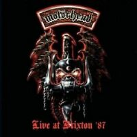 MOTÖRHEAD - LIVE AT BRIXTON '87  CD 12 TRACKS HARD ROCK/HEAVY METAL CONCERT NEU