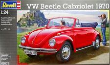 VOLKSWAGEN VW BEETLE CABRIOLET 1970  REVELL 1/24 PLASTIC KIT