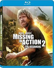 MISSING IN ACTION 2 : THE BEGINNING (Chuck Norris)  -  Blu Ray - Region free