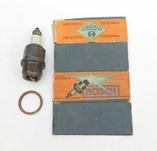 Antique Robert BOSCH A-G Spark Plug with Partial Box. Z12/11 Made in Germany
