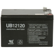 UPG 12V 12AH Sealed Lead Acid (SLA) Battery for Electric Scooter and Toy Car