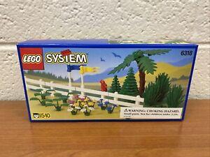 NOS New LEGO 6318 Flowers, Trees & Fences Sealed