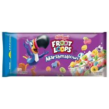 KELLOGG'S FROOT LOOPS BREAKFAST CEREAL ORIGINAL W/MASHMALLOWS 32.5oz - PACK OF 5