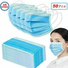 USA Seller 50 PCS Face Mask Mouth & Nose Protector Respirator Masks Save $$$$$$$