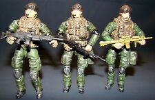 1:18 BBI Elite Force U.S Navy SEAL Forces Delta Force Figure Soldier Set of 3