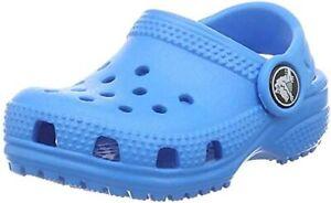 Original Classic Crocs Junior Kids Children Unisex Clog - Ocean - USED