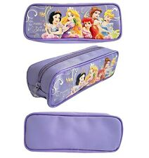 "Princess Pencil Case Pouch (Purple) Approximate Size: 8.0"" X 3.0"" X 2.0"""