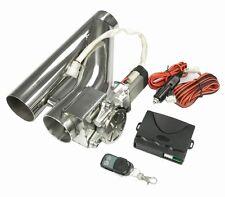 50 mm elektrische Auspuff-Klappe Klappen-Steuerung regelbar System By-Pass