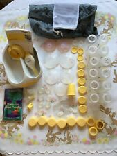 Medela Harmony Manual Breast Pump 2 Phase Includes Accessories and Storage Bag