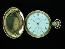 Waltham Am Watch Co.Beautiful Vintage Pocket Watch 1910 Ca.