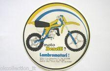 ADESIVO MOTO anni '80 / Old Sticker / Vintage MOTO BENELLI MOTOCROSS (cm 13)