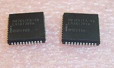 QTY (2)  N87C51FA-20 INTEL PLCC-44 8 bit MICROCONTROLLER NOS