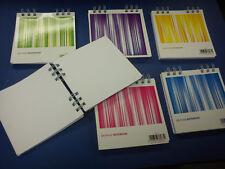 Square 200 page Note Book 12cm x 12cm Plain Paper Notes/Autographs/Sketch Asst