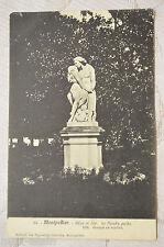"""CPA """" MONTPELLIER - Adam et Eve - Le Paradis perdu"""