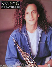 KENNY G 1992 BREATHLESS PROMO POSTER ORIGINAL