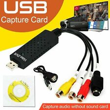 More details for vhs vcr to digital converter usb 2.0 video capture card for xp vista win 7/8/10
