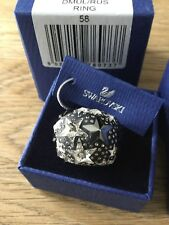 Swarovski  Fizz Ring Size 58 Large Item 976073 Perfect