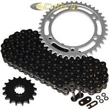 Black O-Ring Drive Chain & Sprockets Kit Fits YAMAHA FJ1200 1986-1993