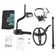 TX850 Sensible Profundo LCD Detector de Metales Oro Audio Auricular Seguridad