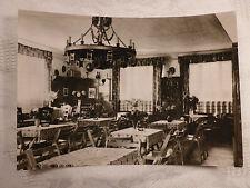 AK alte Ansichtskarte Lehde Spreewald Cafe Venedig innen Einrichtung Gaststätte