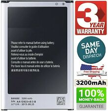 OEM Original Battery For Samsung Galaxy NOTE 3 III SM-N9000, SM-N9005 3200mAh