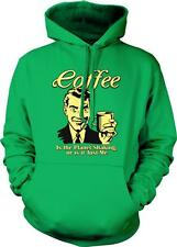 Coffee, Is The Planet Shaking Or Is It Me? Caffeine Espresso Hoodie Pullover