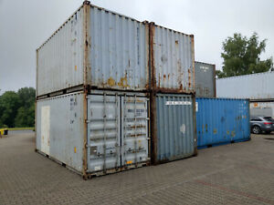 Seecontainer Lagercontainer Garage 20 Fuß Container Lager Box Lagerbox 20`