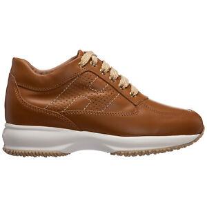 Hogan sneakers women interactive HXW00N00E30D0WG600 leather logo detail shoes