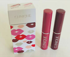 NEW! CLINIQUE ALMOST LIPSTICK DUO GIFT SET - BLACK HONEY & PINK HONEY