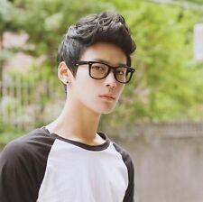 TOP coreano da uomo BELLO CORTO DRITTO capelli completo Parrucche Cosplay Festa