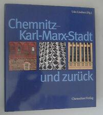 Chemnitz -Karl-Marx-Stadt und zurück ~~Udo Lindner*Bildband /Schutzumschlag