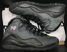Jordan Retro X 10 Shadow CDP Black Grey Red Stealth OVO Steel 310805-061 Sz 9