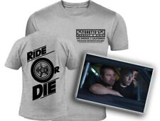 The Fast and The Furious Inspired Two-Sided Toretto's Logo Ride or Die T-Shirt