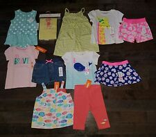 NWT Lot of Summer CLOTHES & OUTFITS Size 18-24 Months Girls Gymboree fish