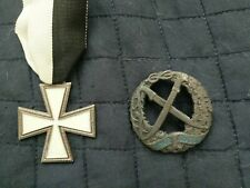 "WWII Italian ""White Cross"" Medal.Russian. Russo Fronte Badge."