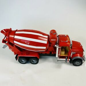 Bruder RARE Large RED MACK Granite Cement Mixer TRUCK 1:16 Toy Made Germany 2007