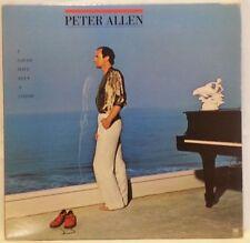 PETER ALLEN - vintage vinyl LP - I Could Have Been A Sailor - sleeve & lyrics