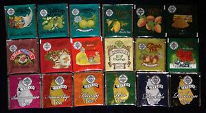 """MLESNA TEA"" Selection Pack  18 Different  Enveloped tea Bags"