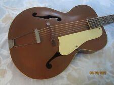 Vintage 1940s 50s Orpheum Acoustic Archtop Guitar