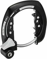 NIKKO Japan-Bike bicycle Frame lock Aluminum Silver Tracking