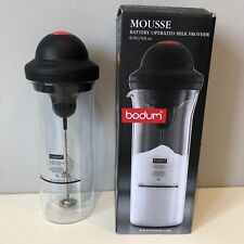Bodum Mousse Battery Operated Milk Frother with Glass Beaker 0.15ltr / 5fl.oz