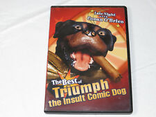 The Best of Triumph the Insult Comic Dog DVD 2004 NR Comedy Pre owned