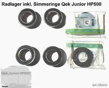 Qek Junior HP500 Satz Radlager inkl. Simmeringe Qek Junior mechanisch gebremst