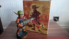 Jak & and Daxter Statue / Sony Naughty Dog Nt Gaming Heads F4F First 4 Sideshow