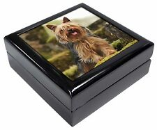 Yorkshire Terrier Dog Keepsake/Jewellery Box Christmas Gift, AD-Y84JB