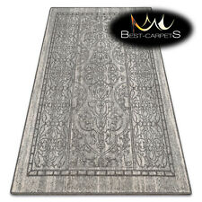 "NATURAL WOOL AGNELLA RUGS ""MAGNETIC"" Ornament grey modern designs ""best carpets"""