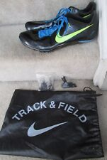 Nike Zoom Ja Fly Sz 15 Mens Track & Field Spiked Shoes BLACK VOLT 487624-034